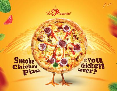 Ad Design for Le Pizzaria : Vol 5