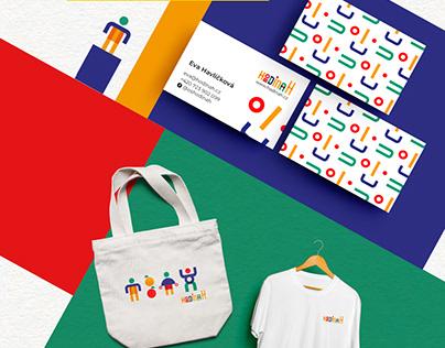 Hodina H branding and merchandising