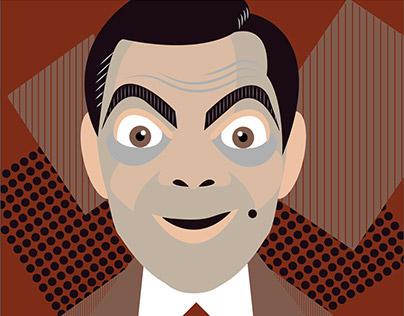 Mr. Bean Illustration