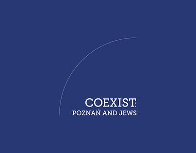 Exhibition design. COEXIST: Poznań and Jews