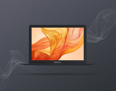 Free MacBook Mockups [PSD, Sketch] - #2