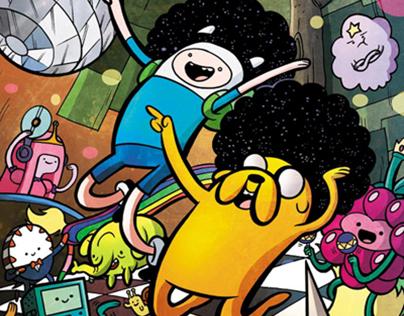 Adventure Time Cover by Jarrett Williams (Boom Studios)