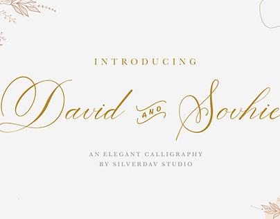 free font | David & Sovhie
