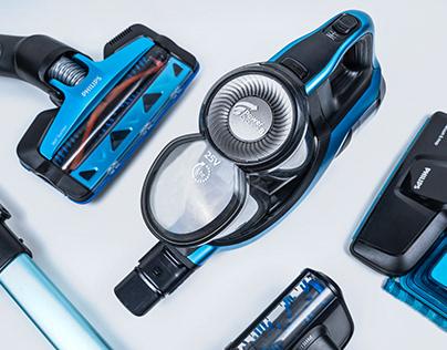 PHILIPS SpeedPro Max Aqua - Product Photography