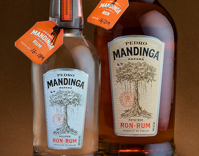 Pedro Mandinga Rum Spirits Package Design