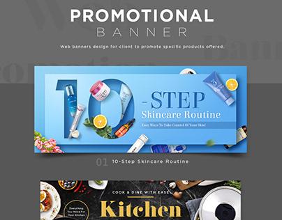 Promotional Banner Design