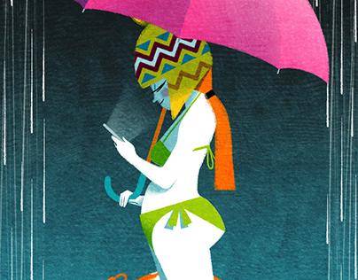 Illustrations for Corriere della Sera #02