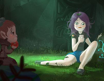 Magic World's girls