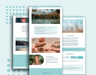 Stella Flaterry Website Design