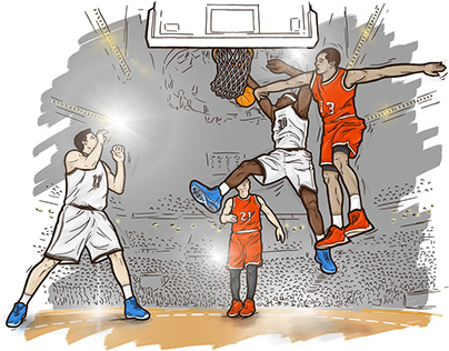 Das ist Basketball