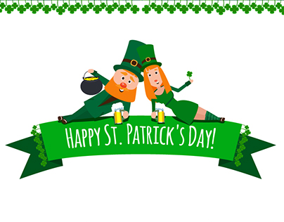 Characters for St. Patrick's Day