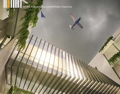 Visualization : Mixed use Building Alimam