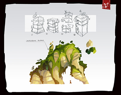 Concept Art for PC Game