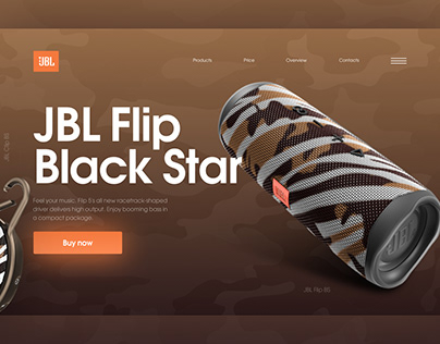 JBL Flip Black Star