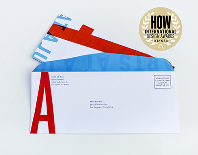 Arts at AJU // Direct Mail