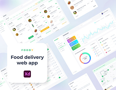 Food delivery web app (foody)