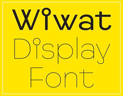 Wiwat typeface