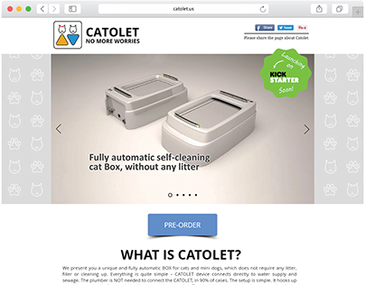 Website Catolet