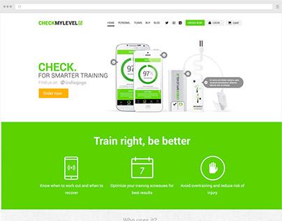 CHECKMYLEVEL App website