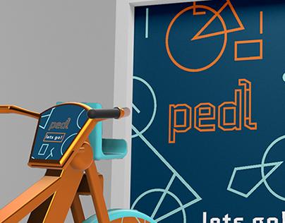 Pedl Bike Share Concept