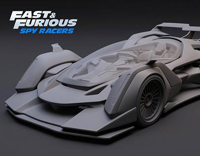 Key Car / Fast & Furious Spy Racers
