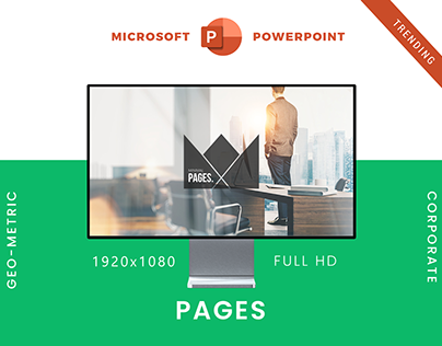 Pages - PowerPoint Presentation Template | Creativity!