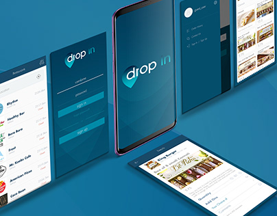 Dropin Mobile App (iOS and Android)