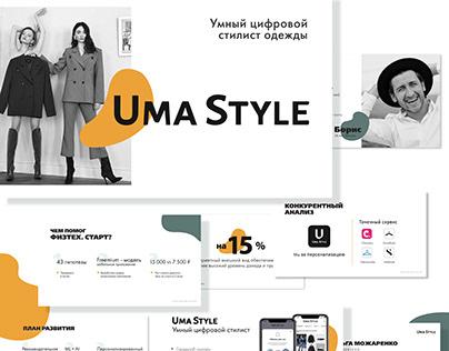 Uma Style Presentation Design