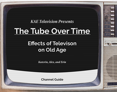 The Tube Over Time   Effects of Television on Old Age