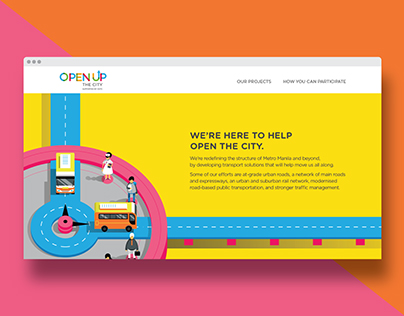 DOTC: Open Up The City