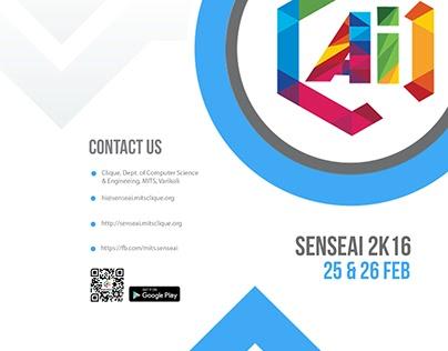 Senseai Techfest Brochures