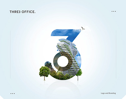 Three Office Logo and Branding