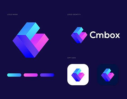 Modern C letter logo