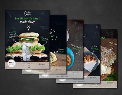 Coffee Bar Promotional Flyers