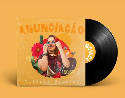 Anunciação - Capa do Single de Vitória Goldini
