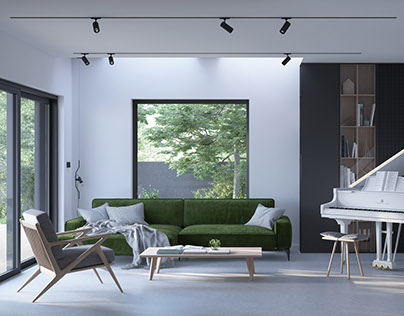 House in Żory | interior design | visualizations