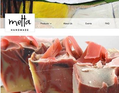 Metta Handmade Soap website