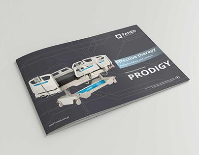 Catalogue for healthcare company.