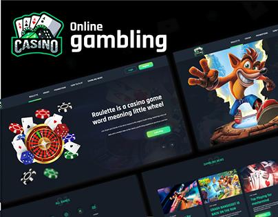 Gambling/Casino/Online Games- UI/UX website