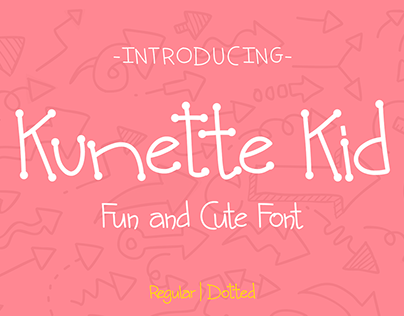 Kunette Kid - Fun and Cute Font
