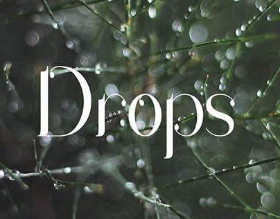 Drops | Free Font
