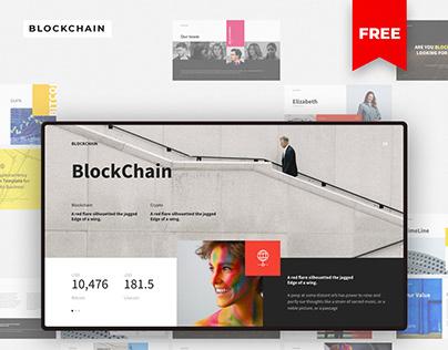 FREE Blockchain Powerpoint Template