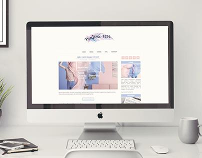 Pantone2016 - blogger theme