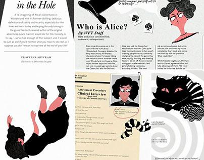 Re-imagining Alice in Wonderland