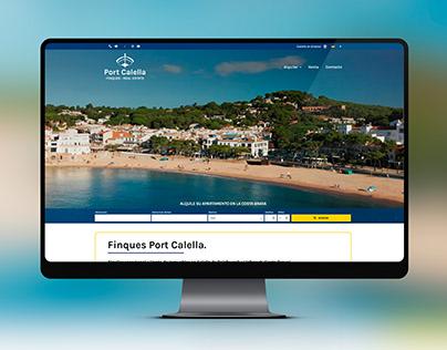 Web de Finques Port Calella