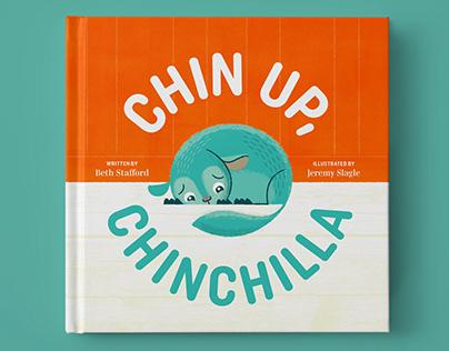 Chin Up, Chinchilla, Children's book illustration