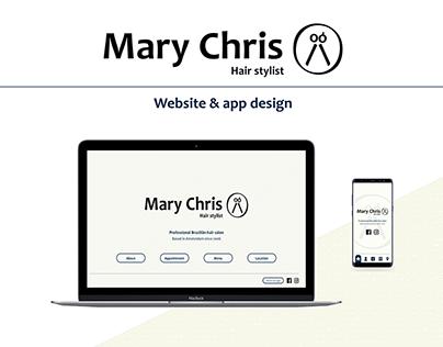 Web&App challenge #2 - Mary Chris hairstylist