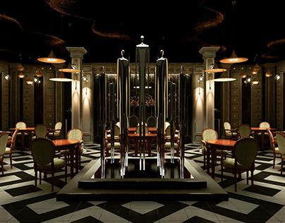 Reversal colonial : boutique restaurant