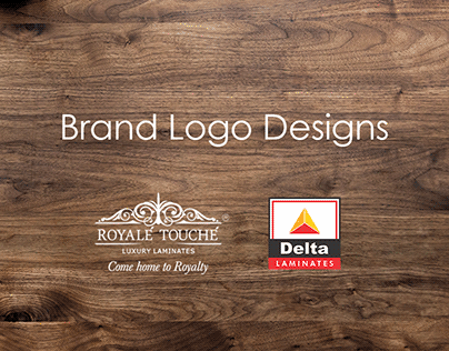 Brand Logo Designs For Royale Touche Laminates
