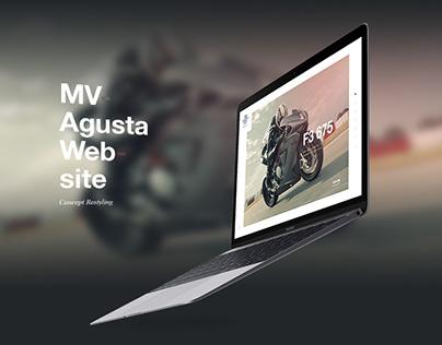 MV Agusta Concept Restyling
